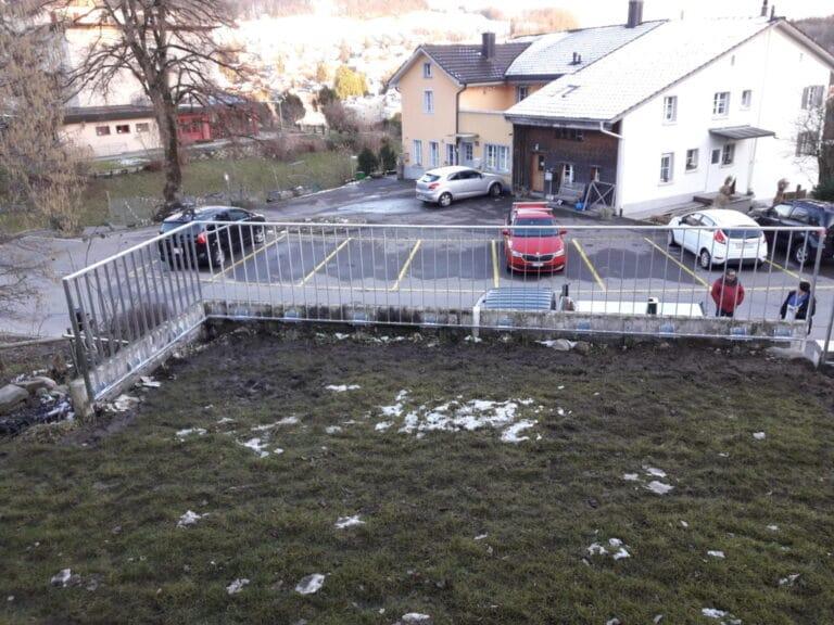 GeländerXpress Montiert