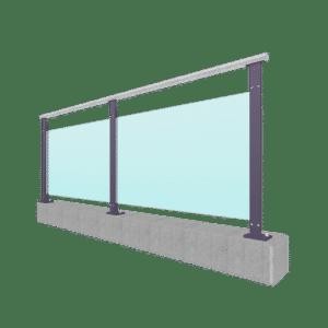 Xpress-Glasgeländer