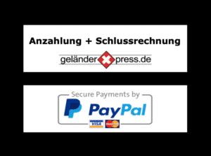 Bezahlmöglichkeiten bei geläanderxpresse de GmbH